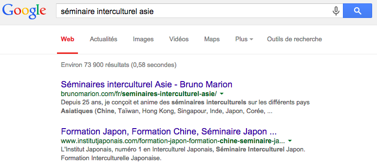 Screenshot BM Asia Google